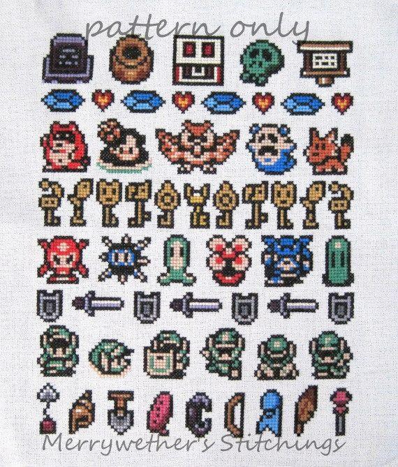 Legend Of Zelda Link S Awakening Band Sampler Cross