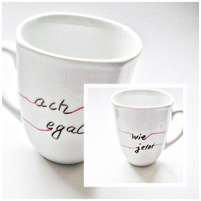 Tasse+mit+Spruch+Sprüchetasse+von+*eloni*++Kleine+Geschenke+auf+ - porzellan geschirr geschenk