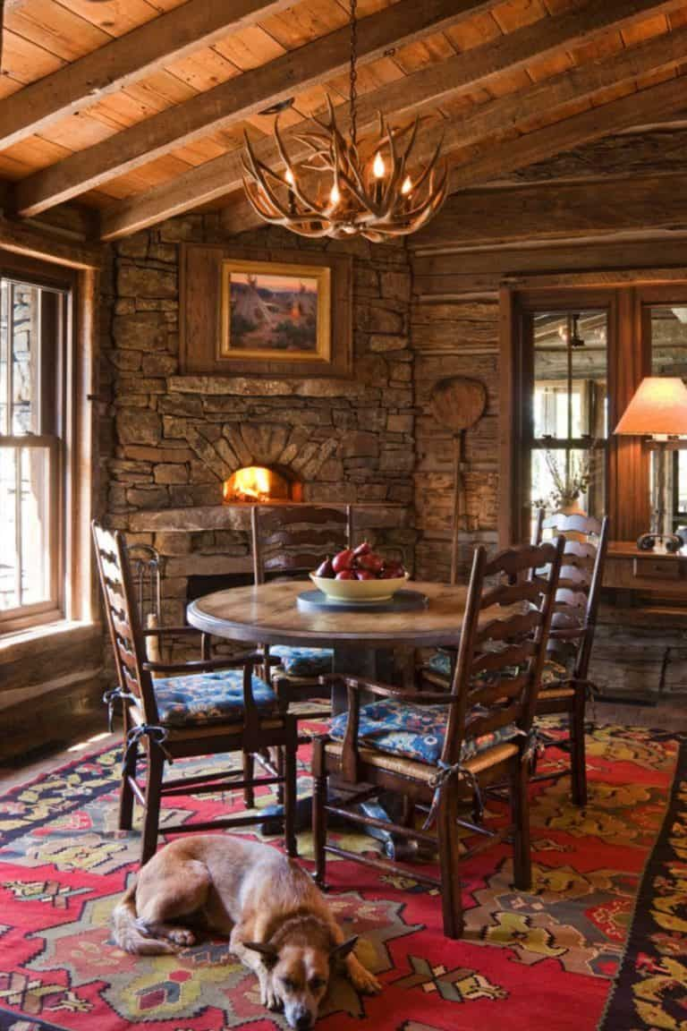 Photo of Rustic mountain home showcases inspiring views of Big Sky Country
