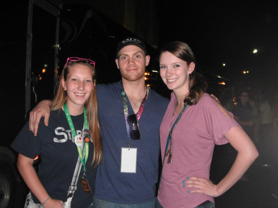 Mandy, Joe, and I after the show! May 11th