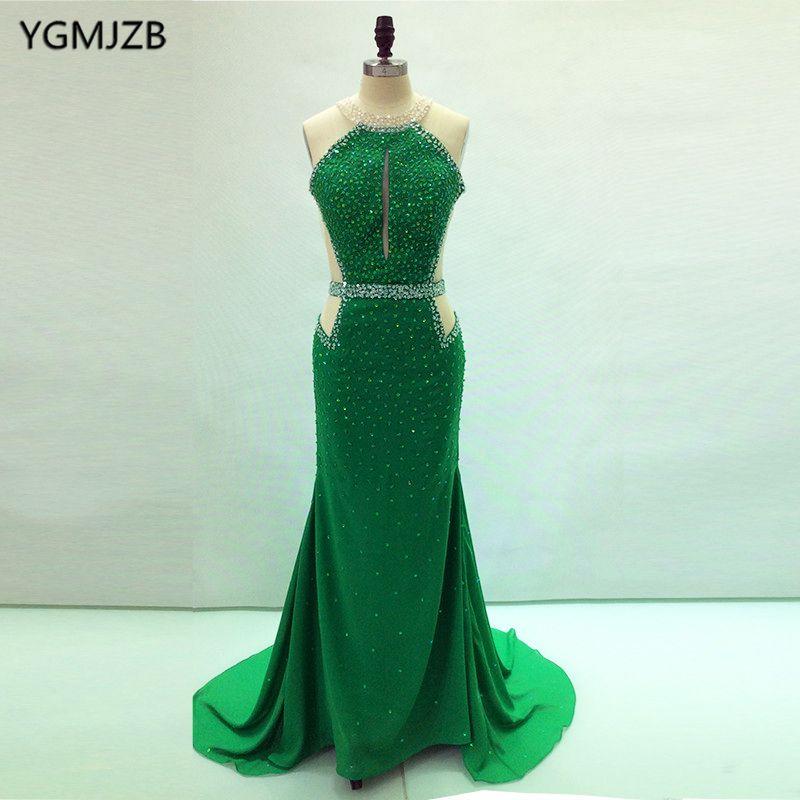 Find More Evening Dresses Information about Elegant Long Backless ...