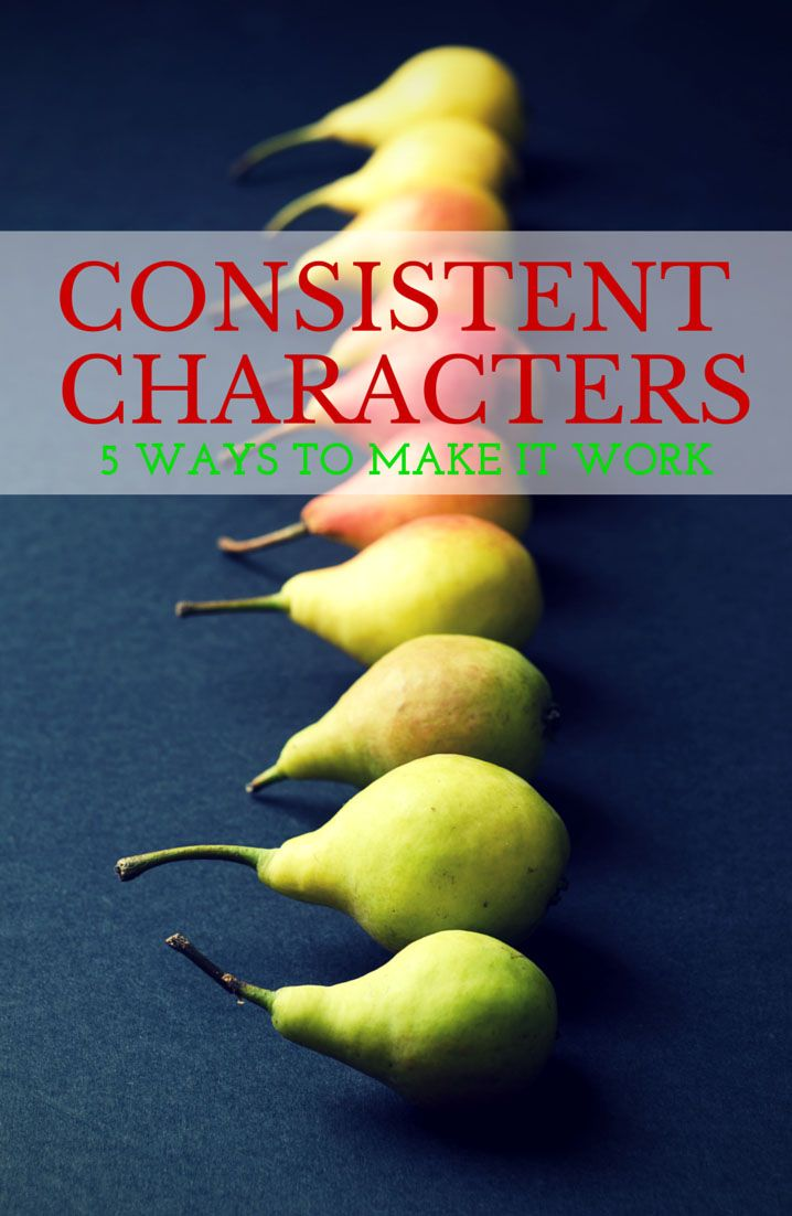 5 Ways to Keep Characters Consistent | Good read for anyone in the revision process!