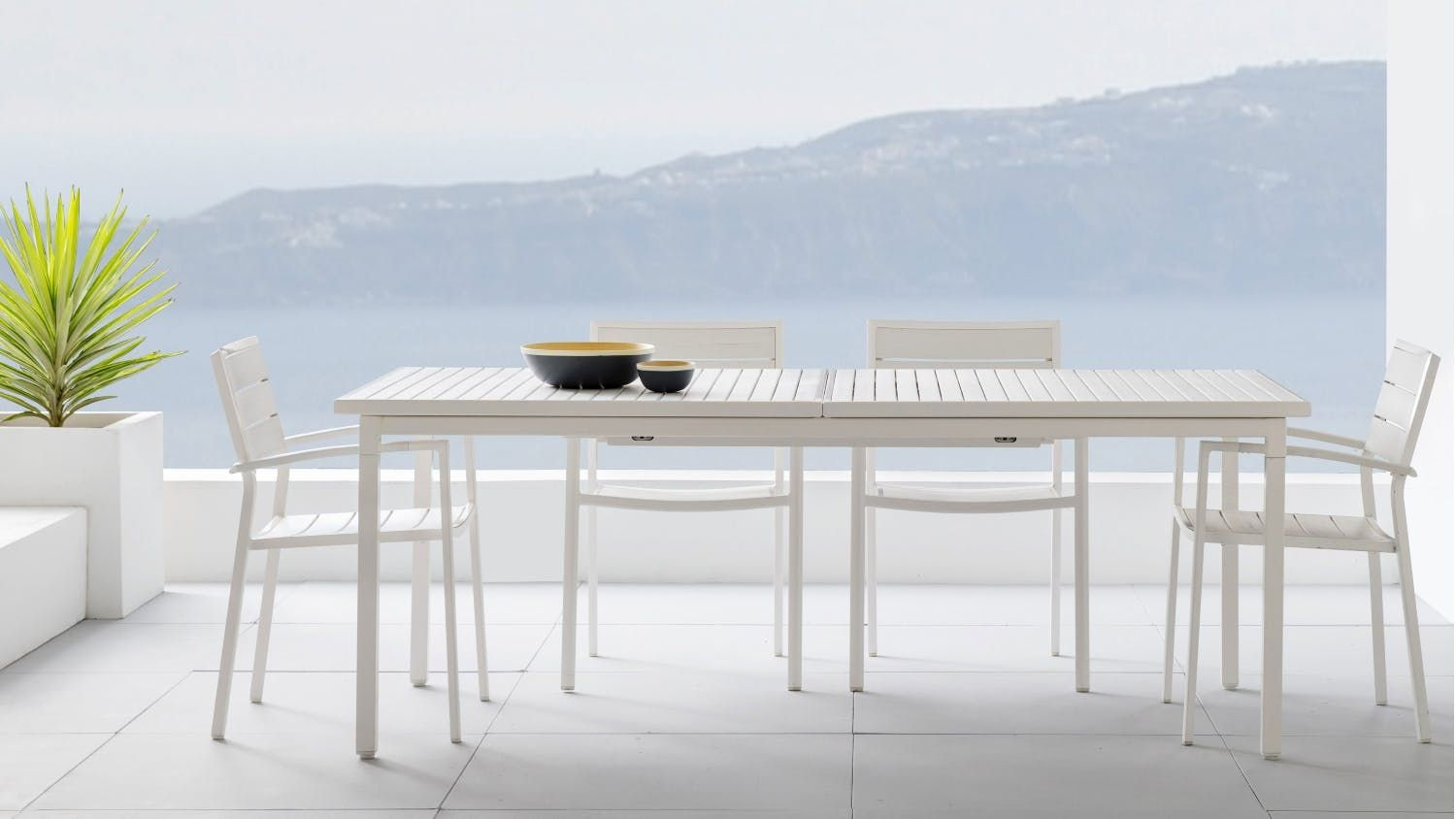 Charlie Extension Dining Table | Domayne
