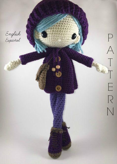 Crochet pattern for doll IDA p | | amigurumi | Pinterest | Arte ...