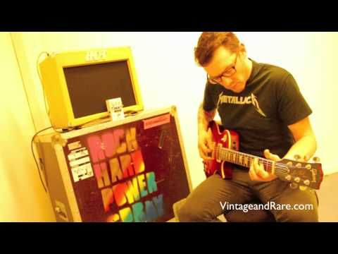 Demo of the Mr White II pedal by Sabbadius Custom Effects Pedals through a Brownie 15 Vintage Deluxe 112 Combo from Hot Amps.