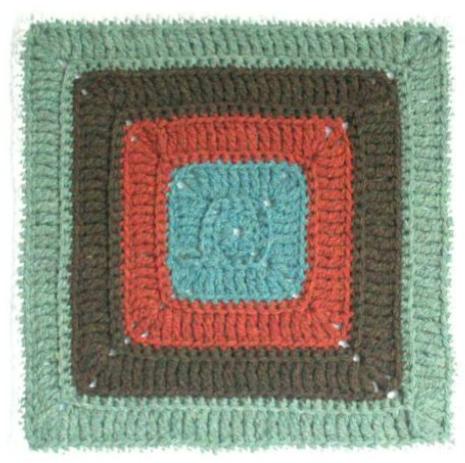Free Crochet Afghan Square Pattern Cat Tracks The Crochet Dude