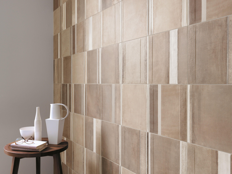 Milano&floor beige tortora deco designer ceramic tiles from fap