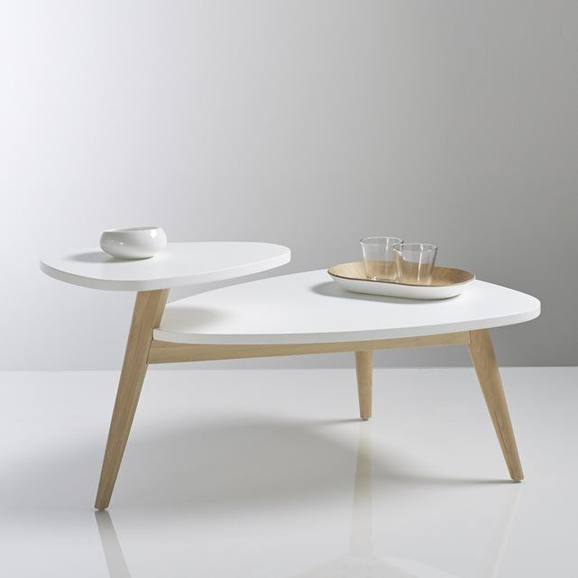 JIMI Retro Birch Two-Tier Coffee Table In 2019