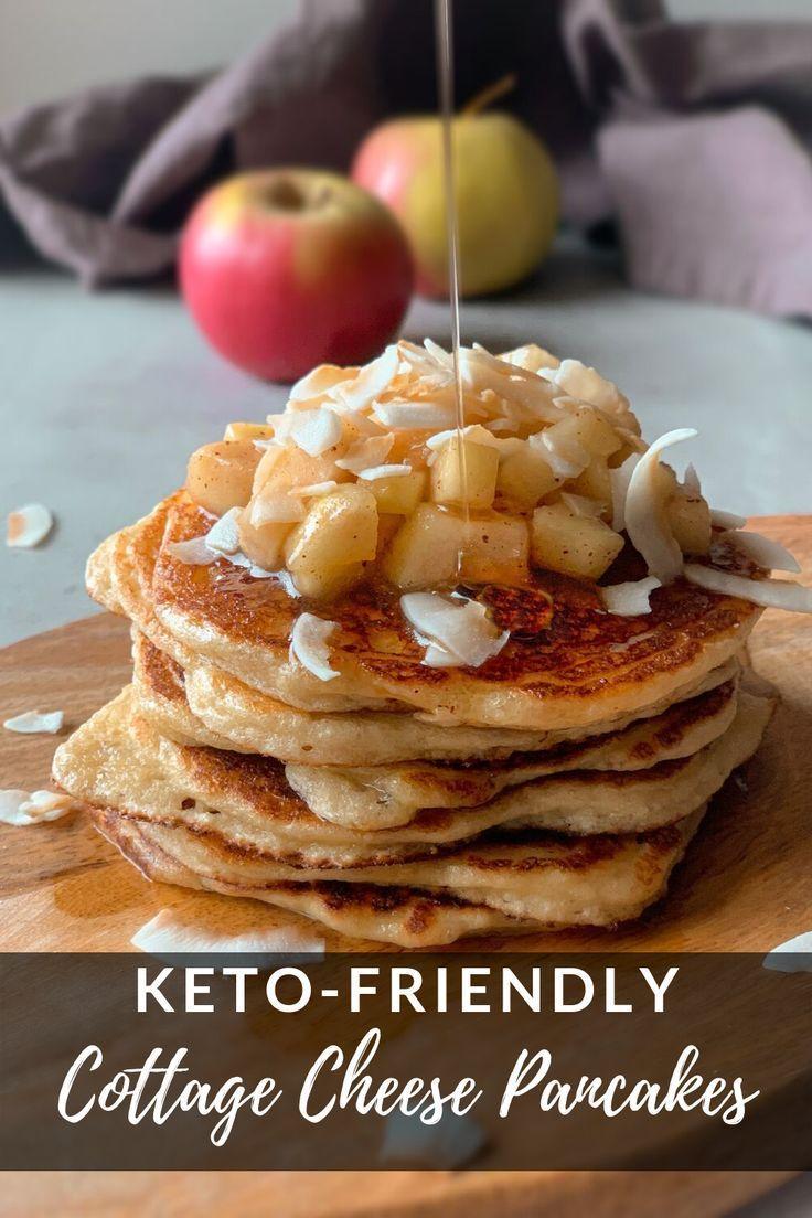 Keto-Friendly Cottage Cheese Pancakes