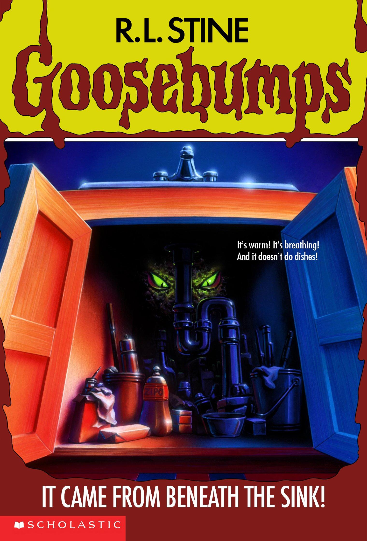 Pin On Goosebumps Books