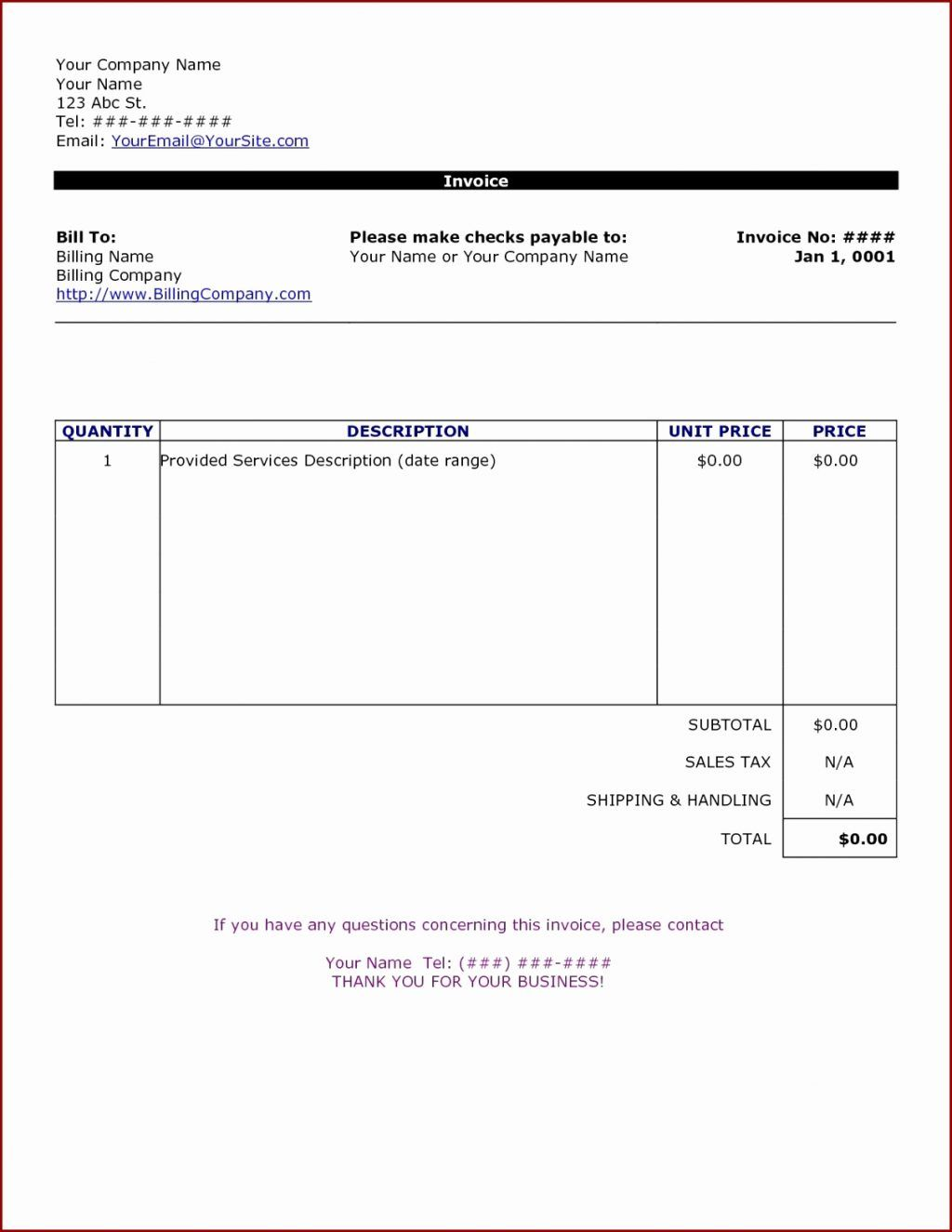 Cleaning Service Invoice Template Ning Examples Services Pertaining To Gardening Invoice Template Best T Invoice Template Word Invoice Template Bill Template