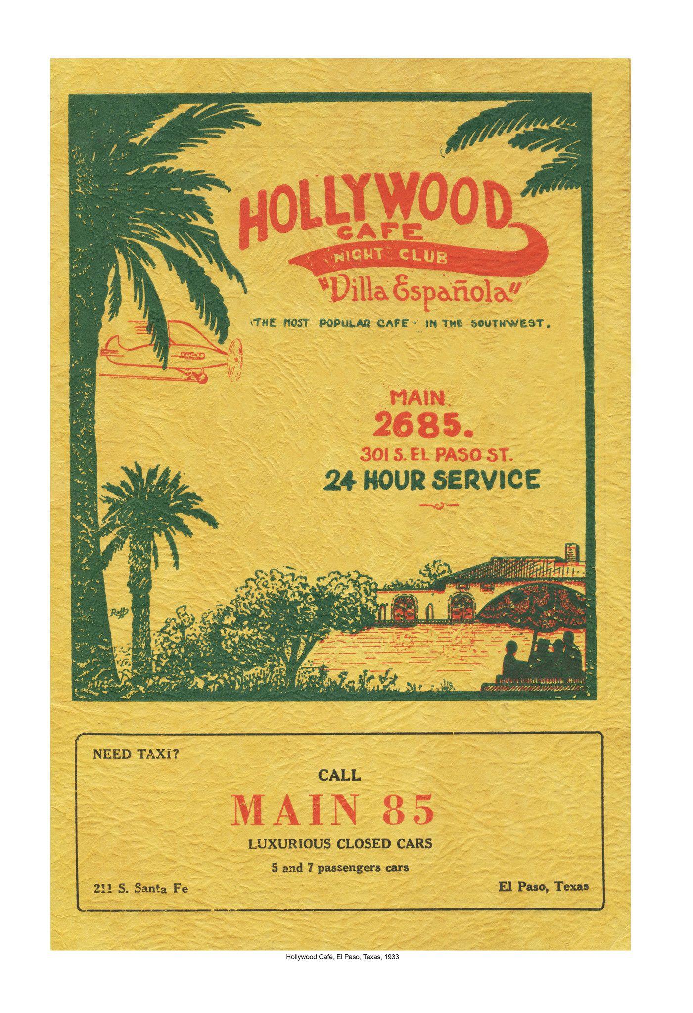 vintage menu specials poster - Google Search
