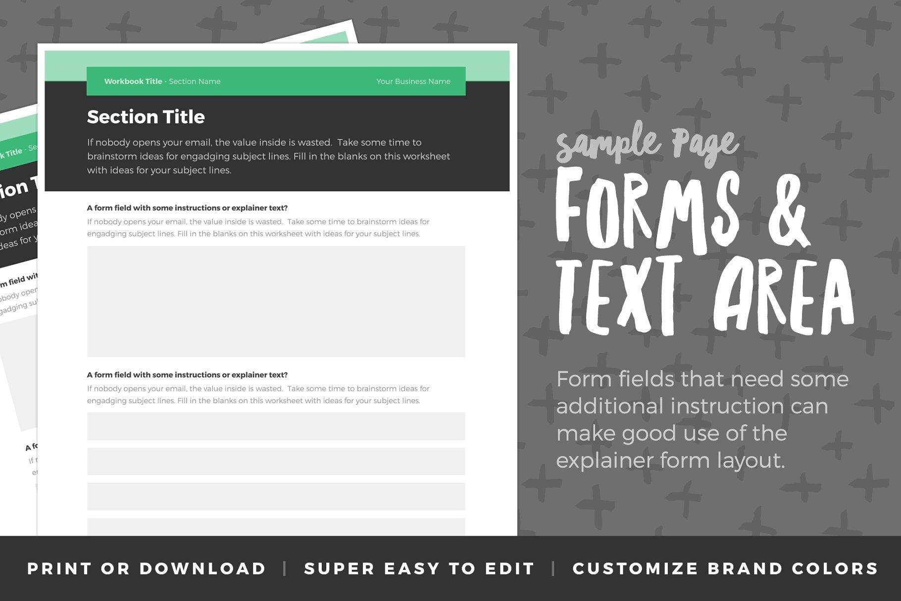 Workbook Toolkit Vol 3 Toolkit Workbook Vol Templates