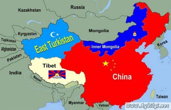 doğu türkistan - Google'da Ara (Görüntüler ile) | Cin, Harita, Rusya