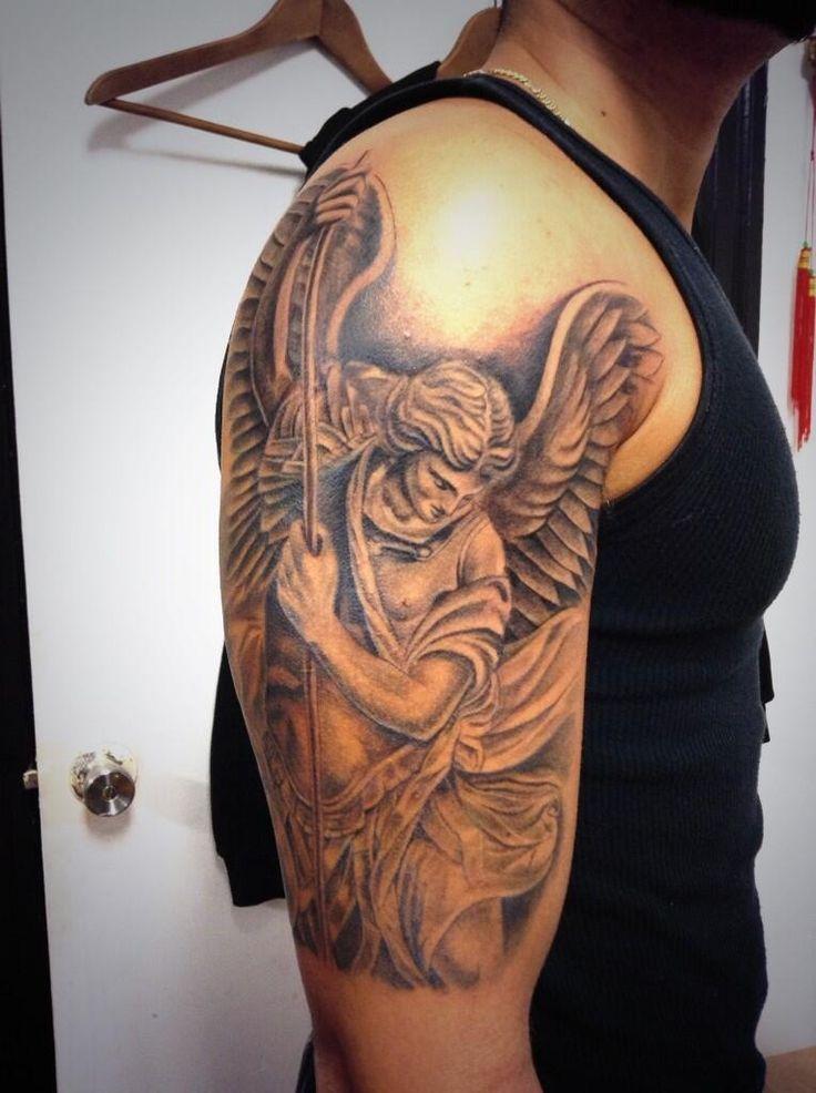 Conhecido tatuagem de São Miguel 3 | newton | Pinterest | Tatuagem de  QP32