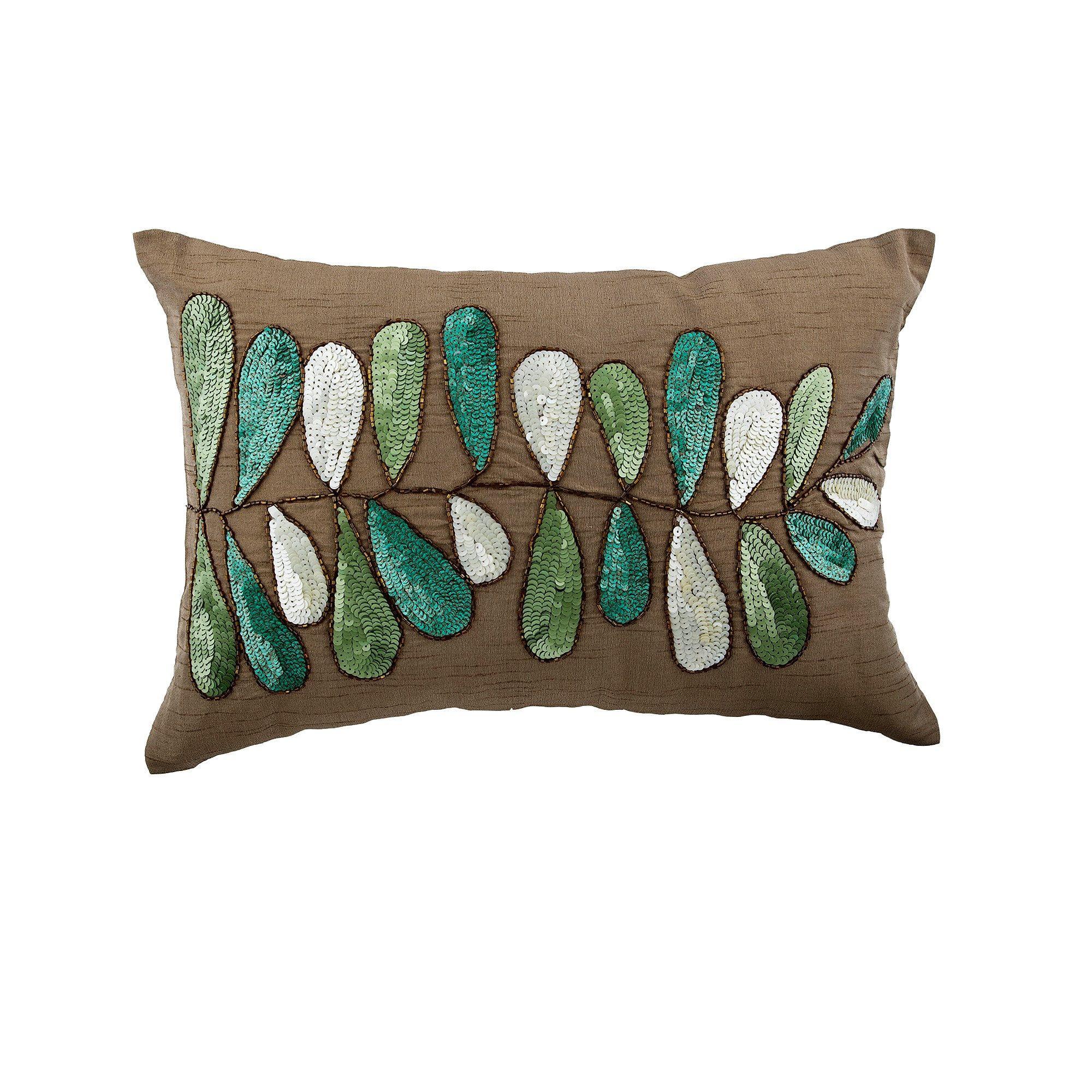 Decorative Oblong Lumbar Throw Pillow Covers Accent Pillows Etsy Lumbar Throw Pillow Throw Pillows Silk Pillow Cover