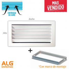 Marcos De Montaje Para Rejillas De Ventilación Alg Sistemas Rejas Montaje Ventilacion