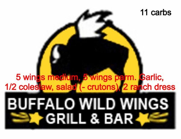 Low Carb Foods At Buffalo Wild Wings