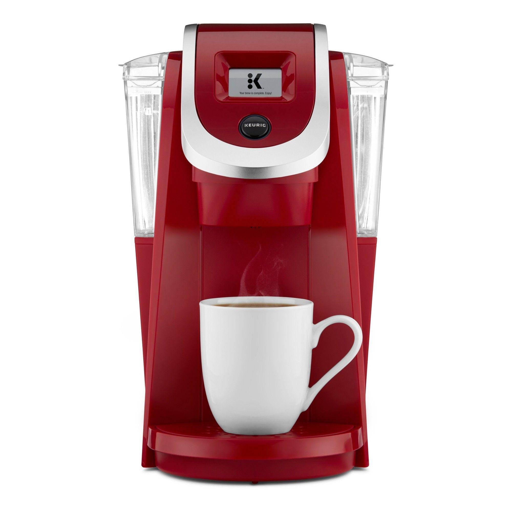Keurig K200 Coffee Maker, Imperial Red Pod coffee makers