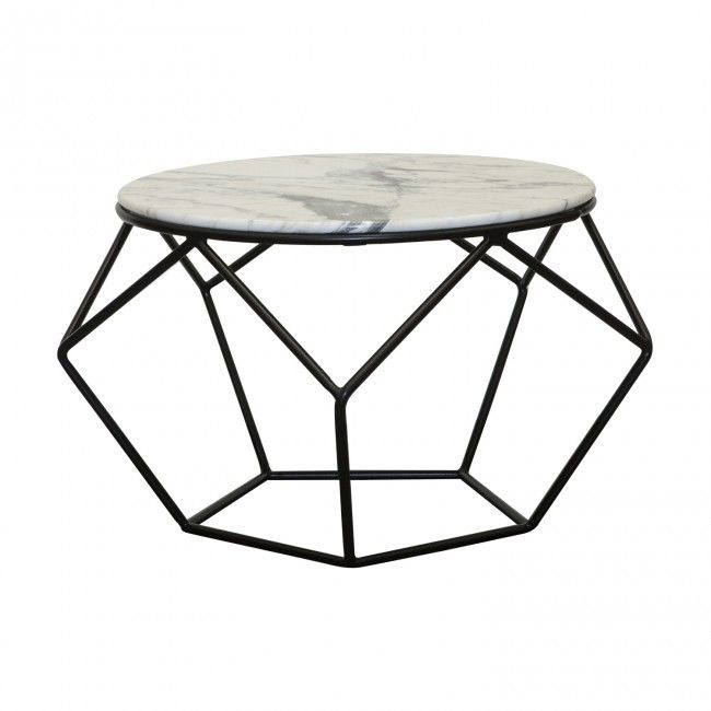 marble geometric Labelle Coffee Table Clickon Furniture 620