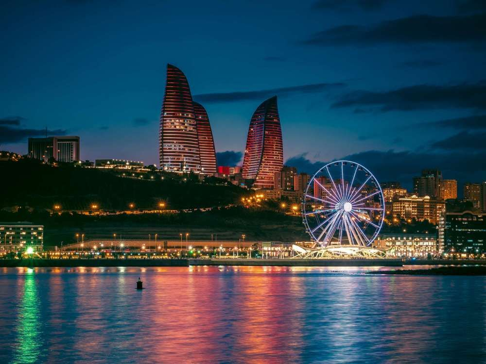 Baku Night Tour Baku City Azerbaijan Travel Baku