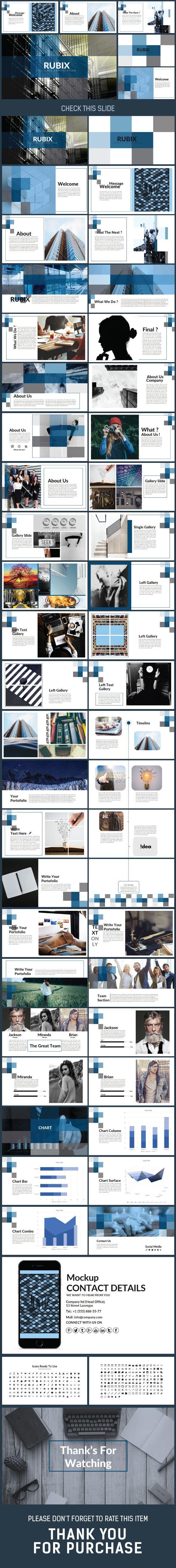 Themeforest o site especializado em templates wordpress rubix presentation power point template creative powerpoint templates no site themeforest encontra os toneelgroepblik Gallery