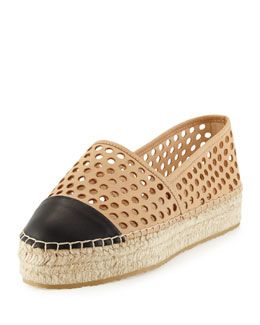 Loeffler Randall Leather Espadrille Flats discount wholesale cheap price store original clearance wholesale price best prices cheap online Ykkfw8K9