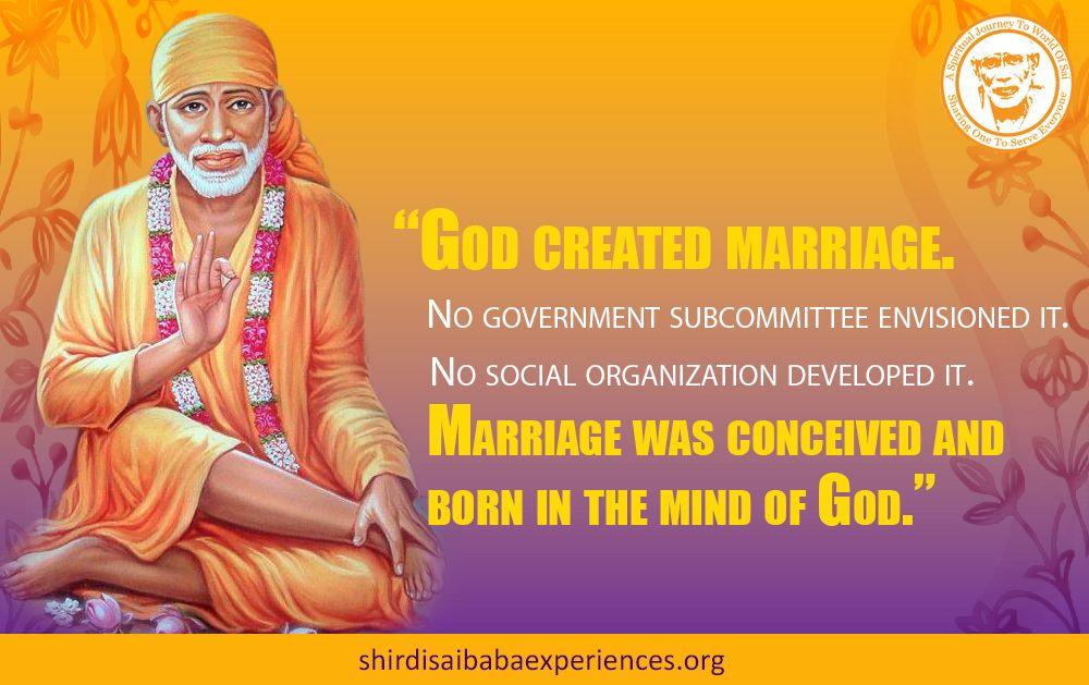 sai answer marriage