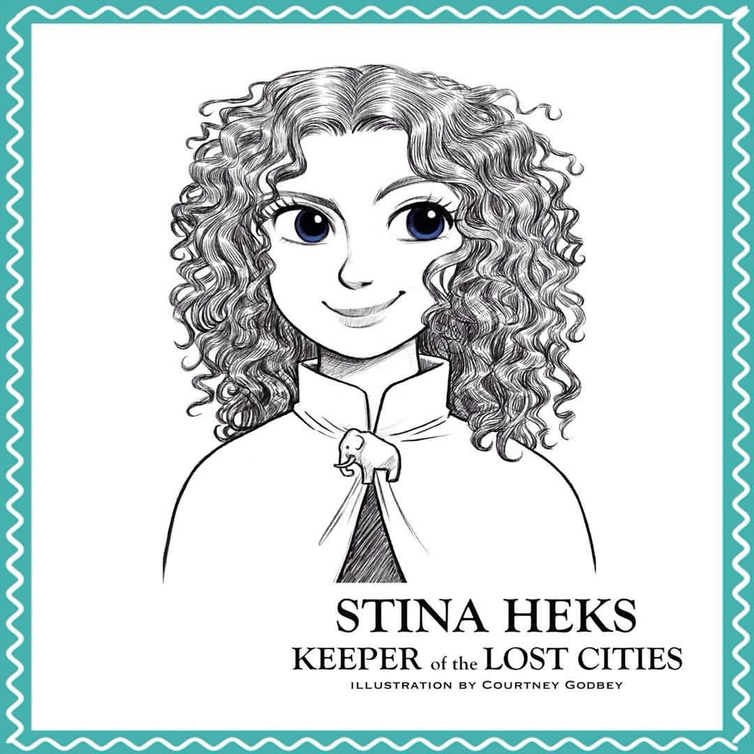 Stina Heks, From The Keeper Of The Lost Cities Series