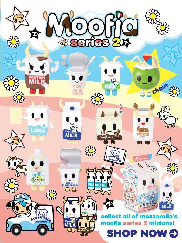 Moofia Series 2 Tokidoki Cute Drawings Kawaii