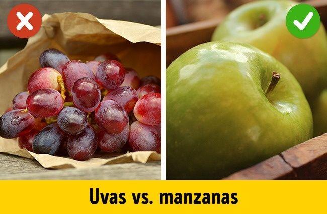 Frutas a evitar durante la pérdida de peso