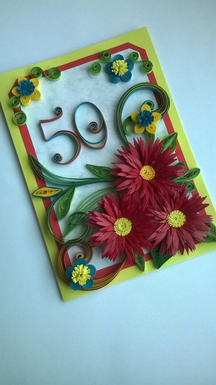 Th birthday card quilling birthday card anniversary card