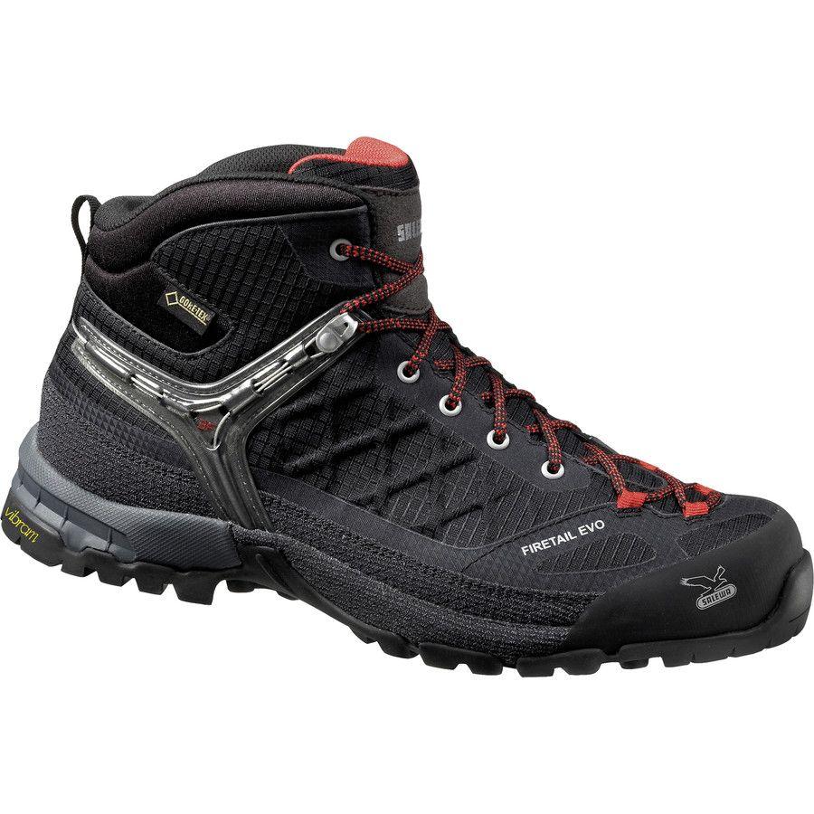 Salewa - Firetail EVO Mid GTX Hiking Boot - Men s - Black  38708c865c3
