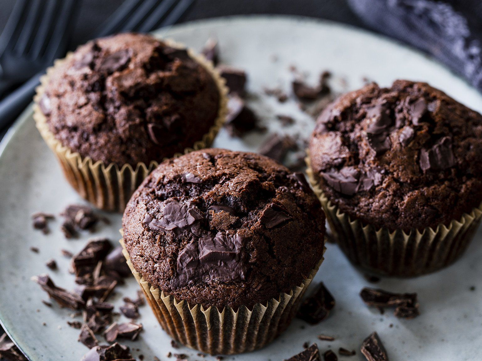Photo of Chocolate Muffins – Juicy & Fast | The best baking recipes with …
