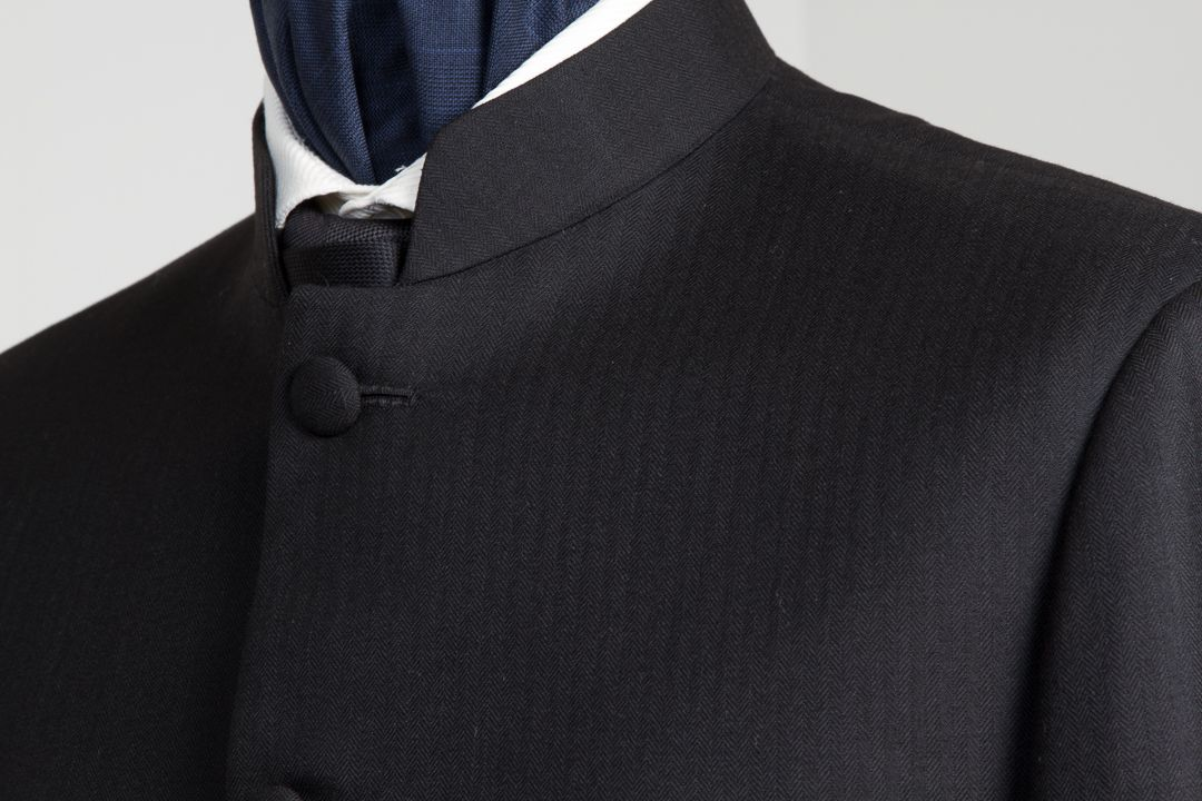 Nehru Jacket Coat Jasje Blazer — De Oost Bespoke Tailoring