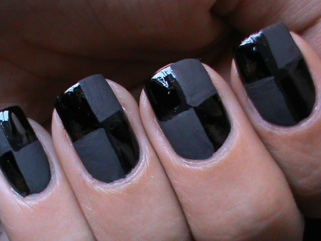 Video Tutorial Learn How To Do This Matte Nail Art Design Http