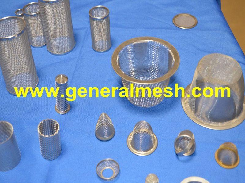 Wire Mesh Strainers Sink Strainers Stainless Steel Www Generalmesh Com Material Stainless Steel Brass Nickel Etc Appl Water Pipes Sink Strainer Aerator
