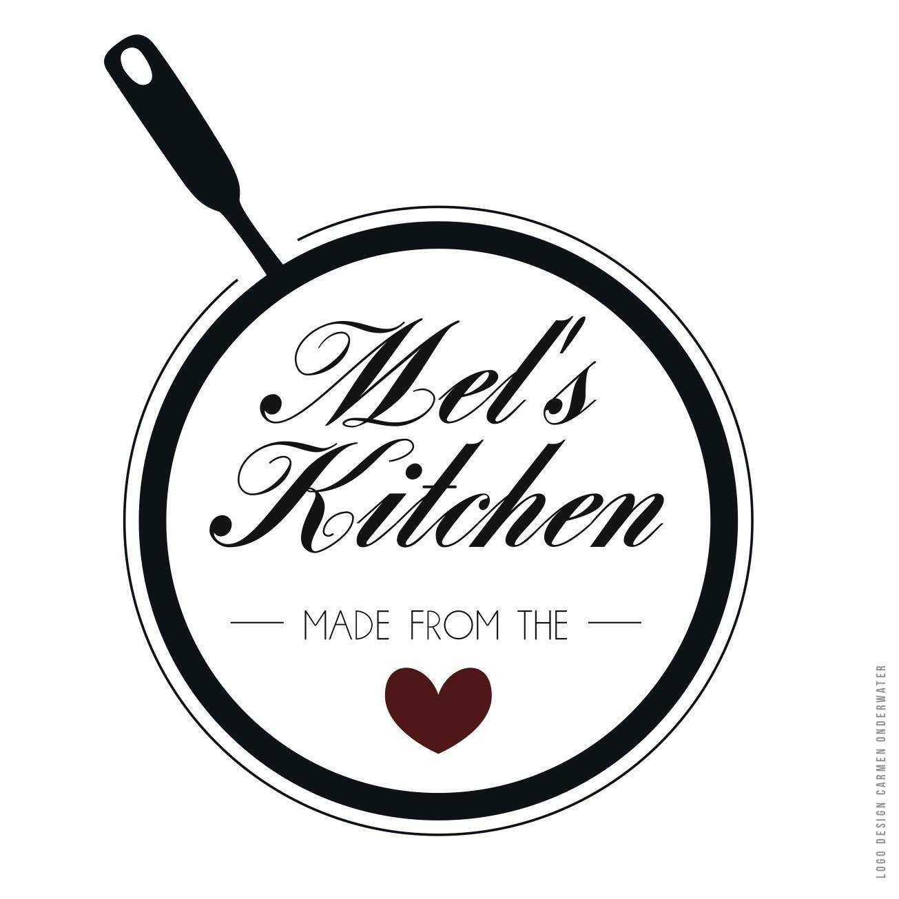 Logo design Mel\'s Kitchen. | Designs | Pinterest | Logos