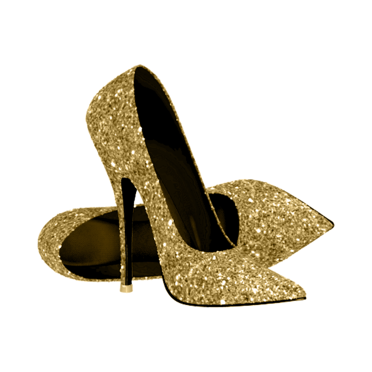 Stepping Into 40 Birthday Party Invitation Zazzle Com Glitter High Heels Gold High Heels Gold High Heel Shoes