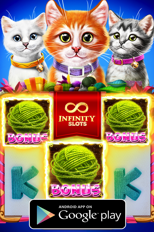It's Infinity Slots time! You know what to do, play and