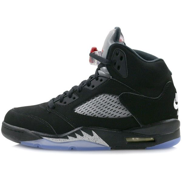 "Nike Air Jordan 5 Retro OG ""Metallic Silver"" hanon-shop.com ($210) ❤ liked on Polyvore featuring accessories, eyewear, sunglasses, nike eyewear, retro glasses, retro sunglasses, retro eyewear and nike glasses"