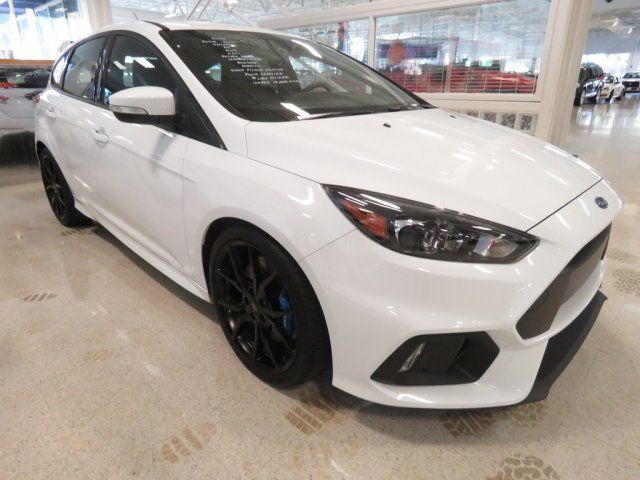 2016 Ford Focus Rs 16 Ford Focus Rs 9 714 Miles Frozen White