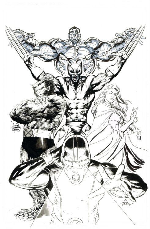 Newmutantmayhem Comic Art X Men Comic Pictures