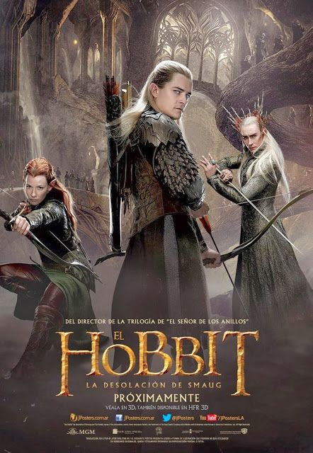 New Posters For The Hobbit The Desolation Of Smaug The Hobbit