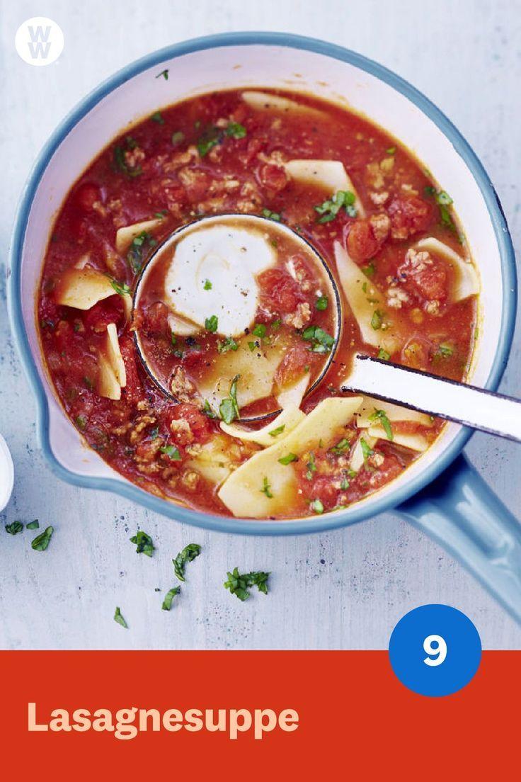 lasagne suppe rezept