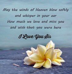 Missing My Sister In Heaven Poems   Wedding Ideas
