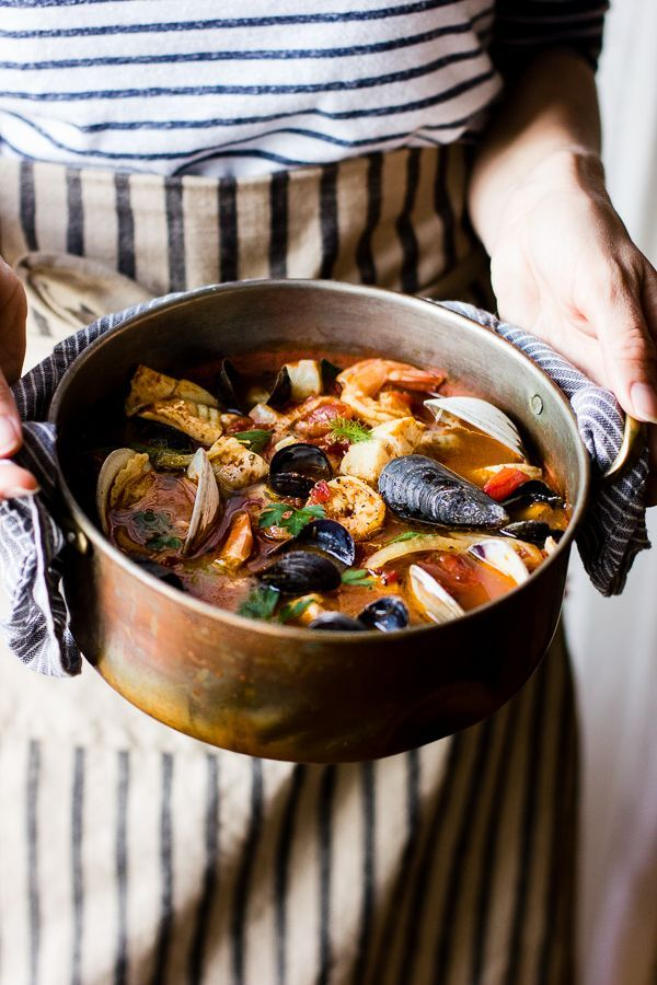 Cioppino with Fennel and Saffron {A Collaboration}