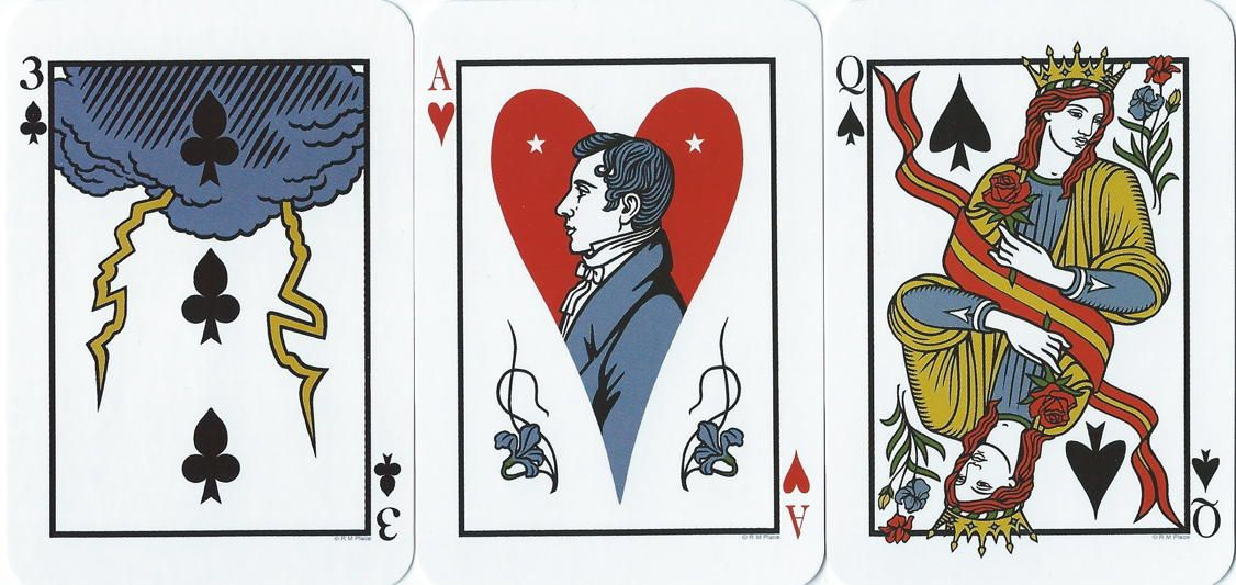 Hermes playing card oracle cards major arcana cards