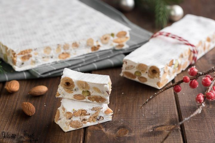 Dolce Di Natale Giallo Zafferano.Torrone Bianco Morbido Fatto In Casa Di Montersino Ricetta Torrone