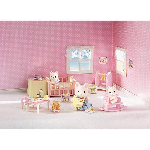 Calico Critters Nightlight Nursery Set - Toys\